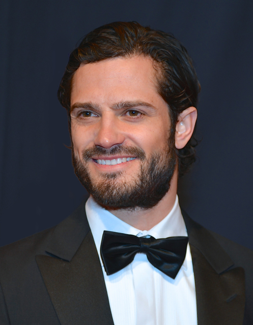 Prince Carl Philip in January 2014
